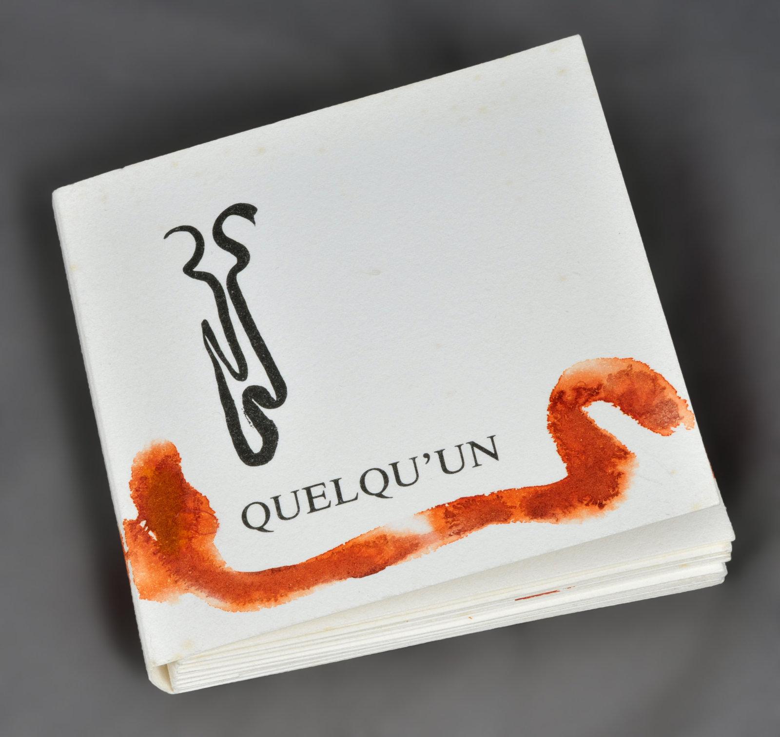Quelqu'un : poème | Chabrun, Jean-François (1920-1997). Auteur