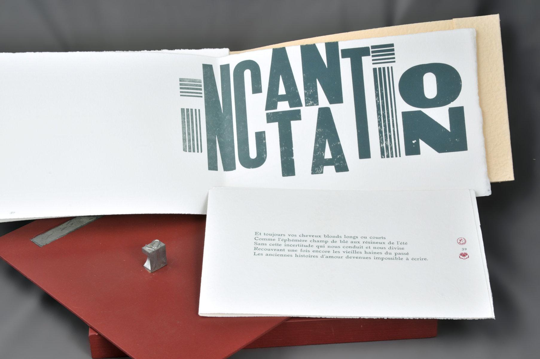 Incantations | Piccamiglio, Robert (1949-....). Auteur