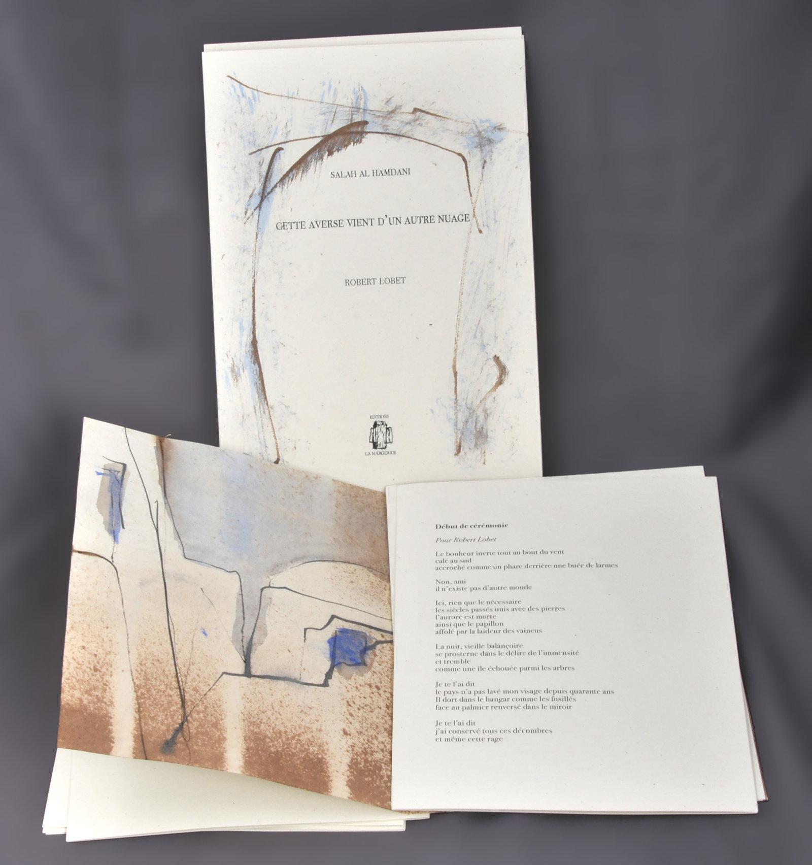 Cette averse vient d'un autre nuage ou Bagdad, désespérément | Hamdani, Salah al- (1951-....). Auteur