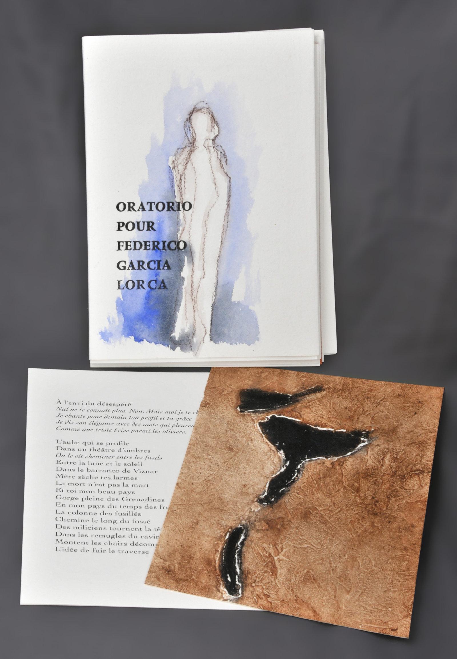 Oratorio pour Federico Garcia Lorca   Doucey, Bruno (1961-....). Auteur
