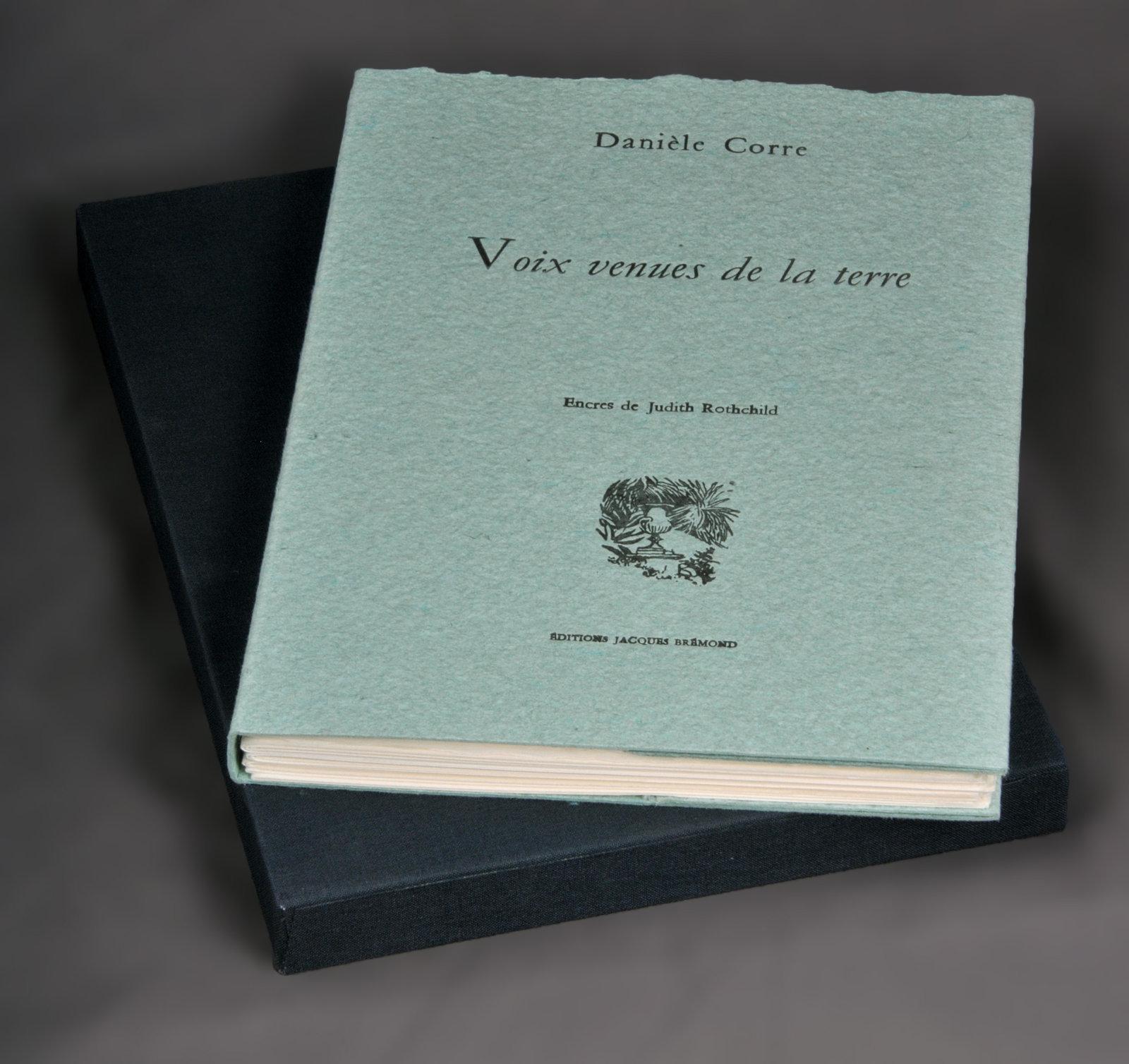 Voix venues de la terre | Corre, Danièle (1946-....). Auteur