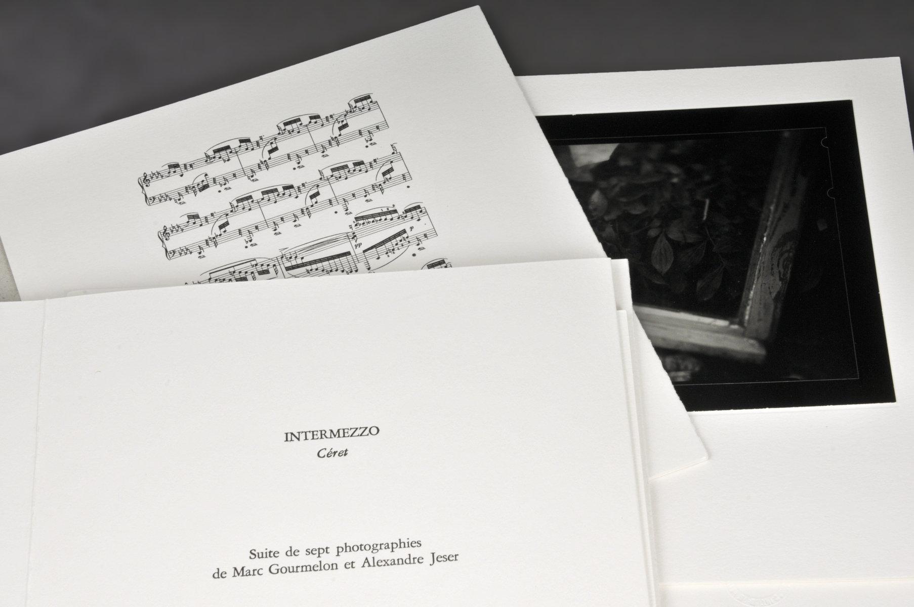 Intermezzo : mis en musique par l'opus 117 n ̊ 2 de Brahms : suite de sept photographies | Gourmelon, Marc (1968-....). Auteur