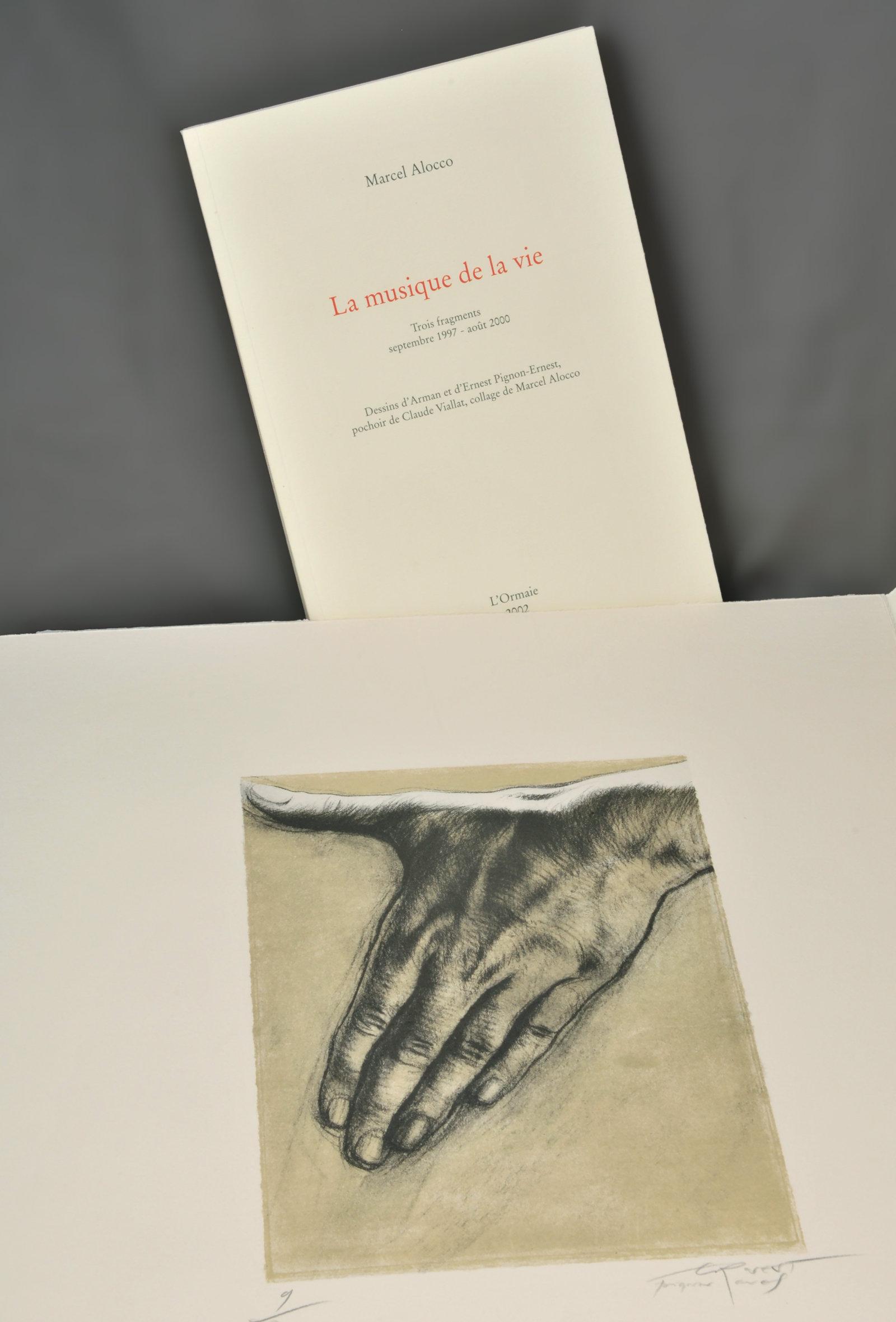 musique de la vie (La) : trois fragments, septembre 1997-août 2000 | Alocco, Marcel (1937-....). Auteur