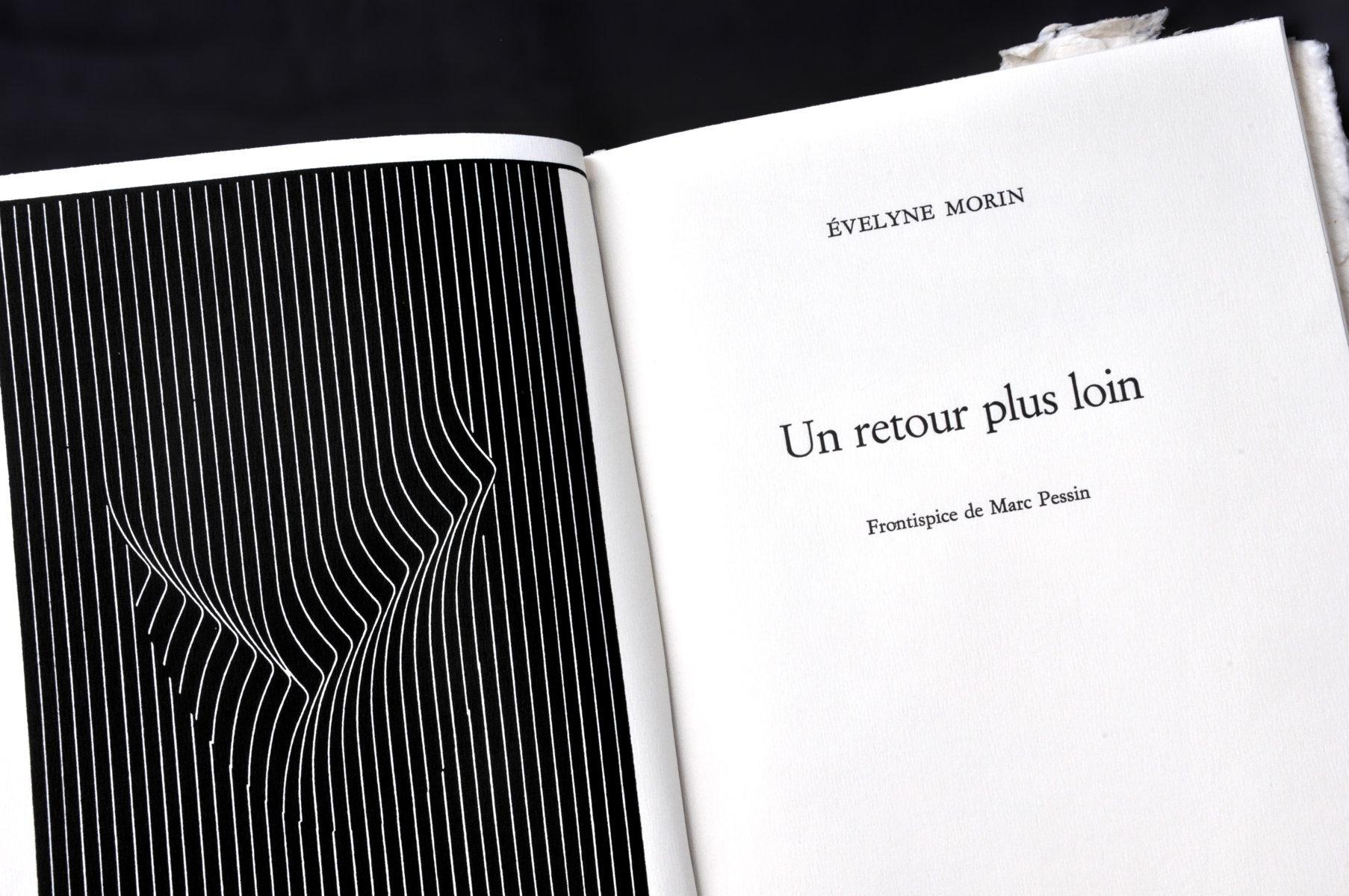 Un retour plus loin | Morin, Evelyne (1950-....). Auteur