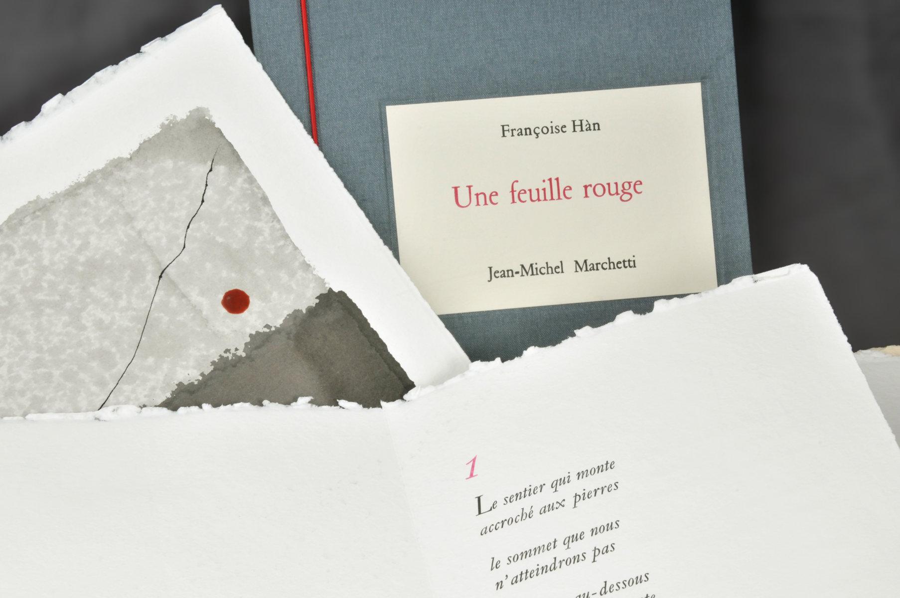 Une Feuille rouge | Hàn, Françoise (1928-....). Auteur